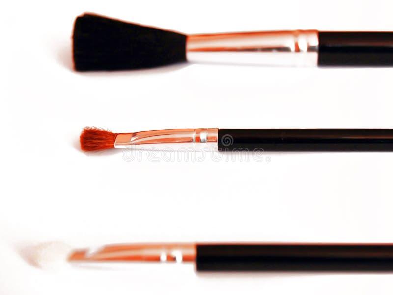 Make-Up Brushes stock images