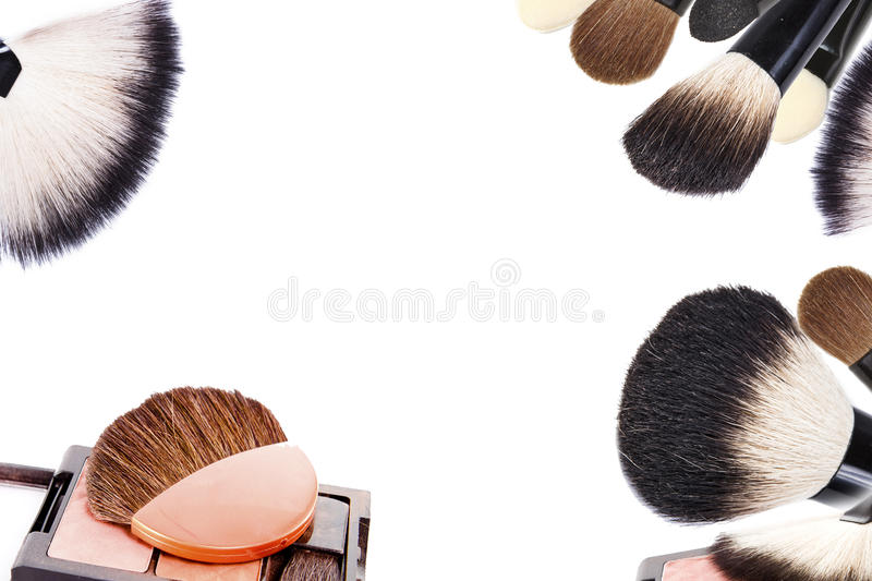 Make-up collage royalty free stock image