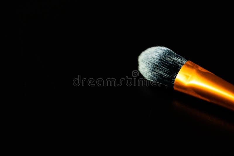 Make-up concept. Make-up brushes. Foundation brush royalty free stock image