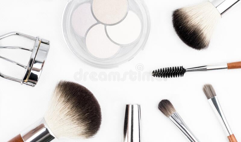 Make Up Equipments royalty free stock photography