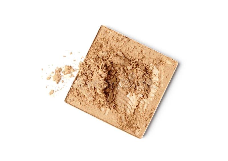 Make-up face powder stock photos