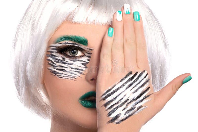 Makeup royalty free stock photography