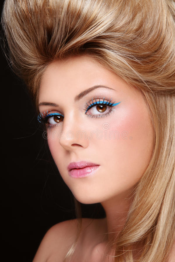 Make-up And Hairdo Royalty Free Stock Images