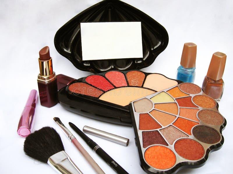 Download Make-up Kit stock photo. Image of bright, lipstick, kajal - 13401922