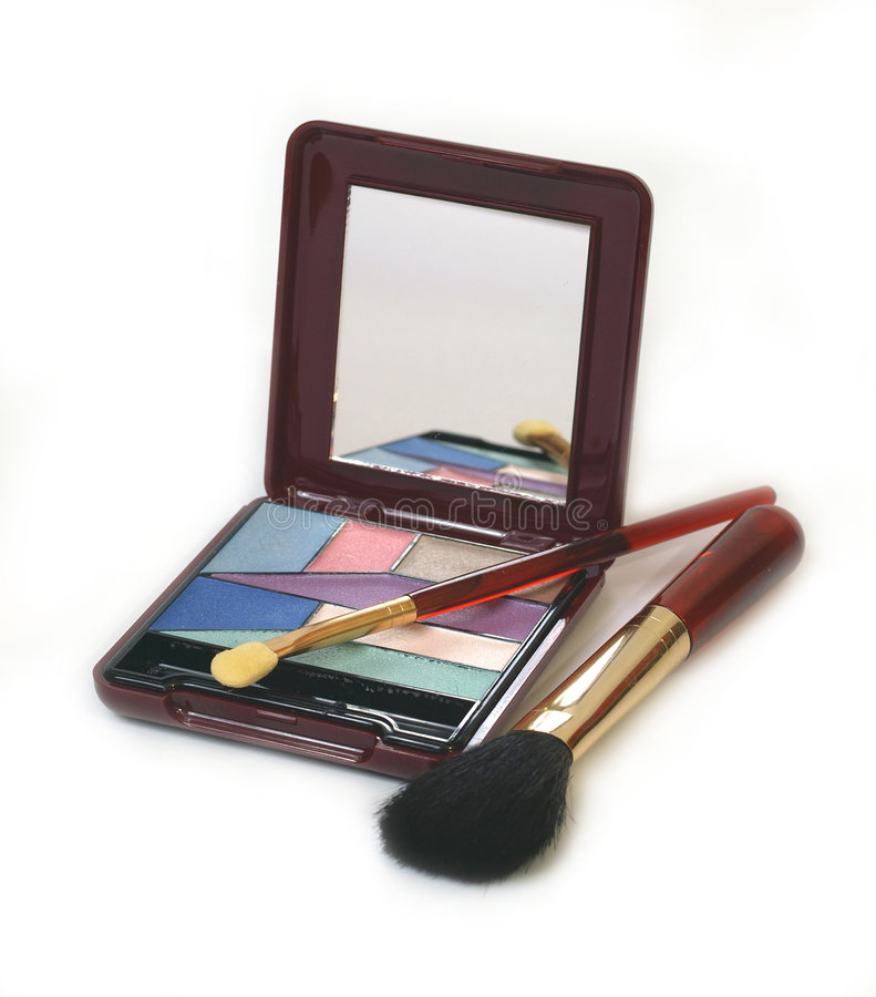 Make-up kit royalty free stock photography