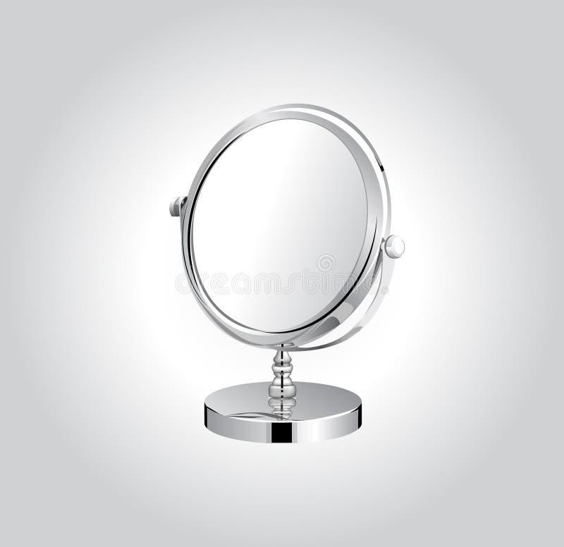 Download Make-up metal mirror stock vector. Illustration of facial - 23827453