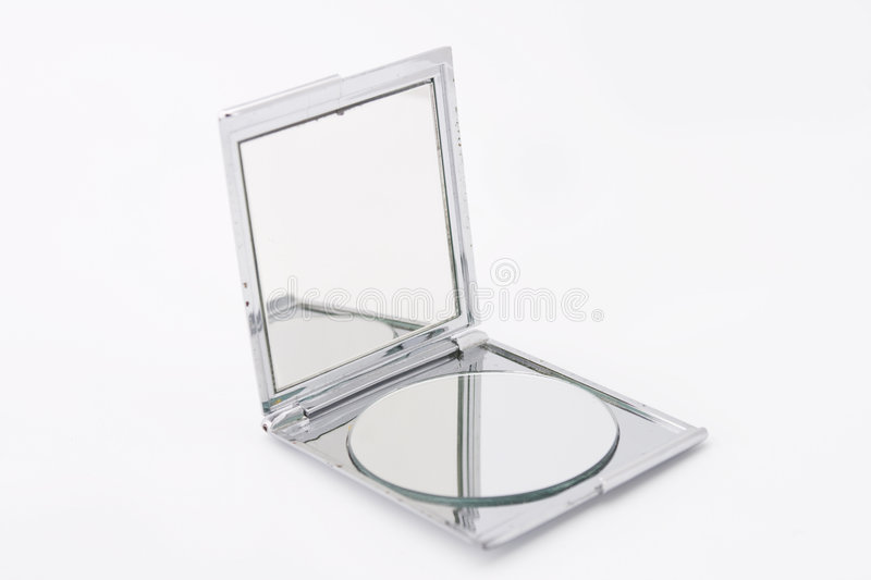 Make up mirror royalty free stock photography