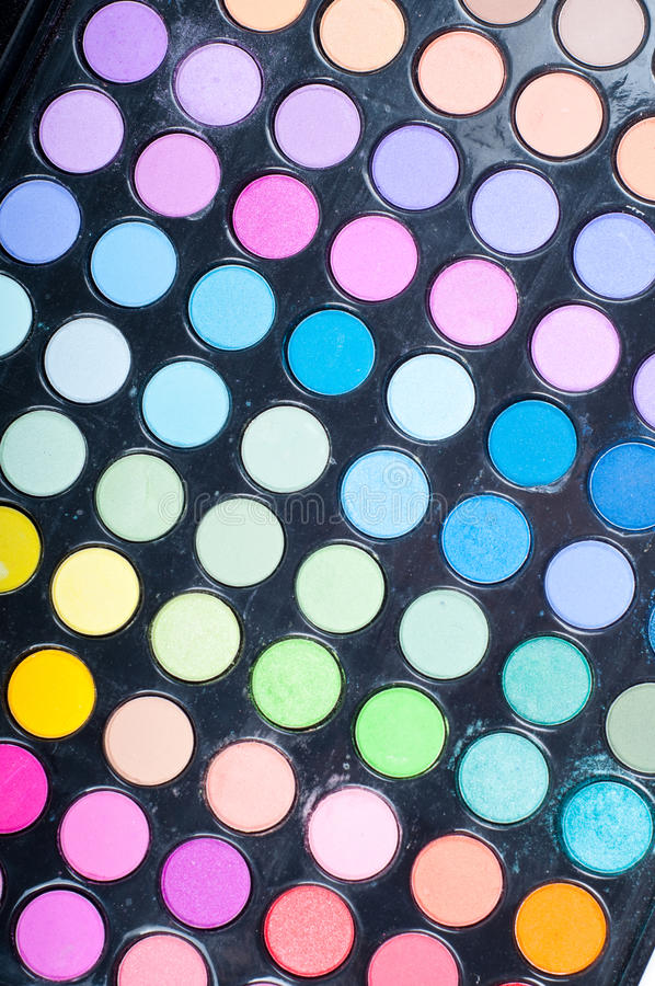 Download Make-Up Palette stock photo. Image of eyeshadow, paint - 16953292