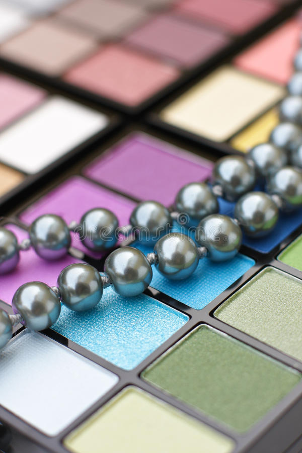 Download Make-up palette stock photo. Image of black, colorful - 23995334
