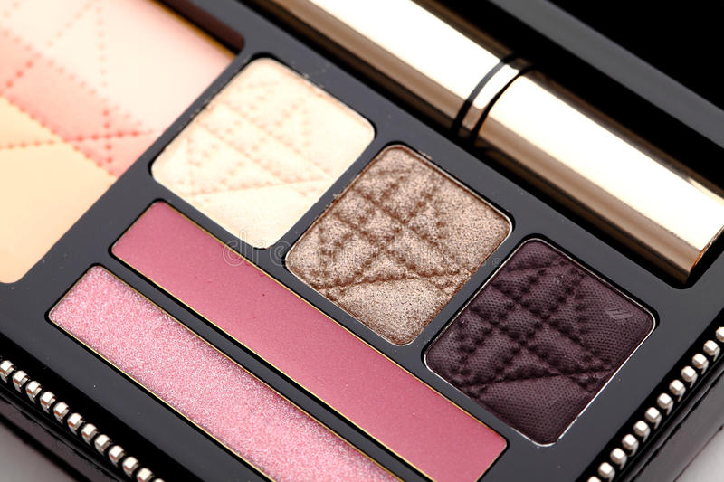 Make Up Palette Royalty Free Stock Photography