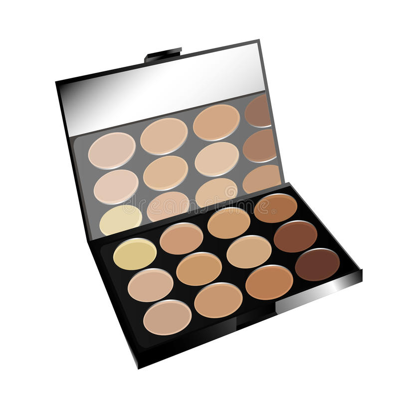 Free Make-up Pallet Stock Photography - 18780932