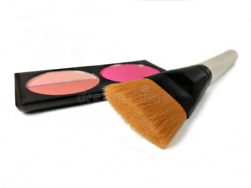 Make-up products stock image