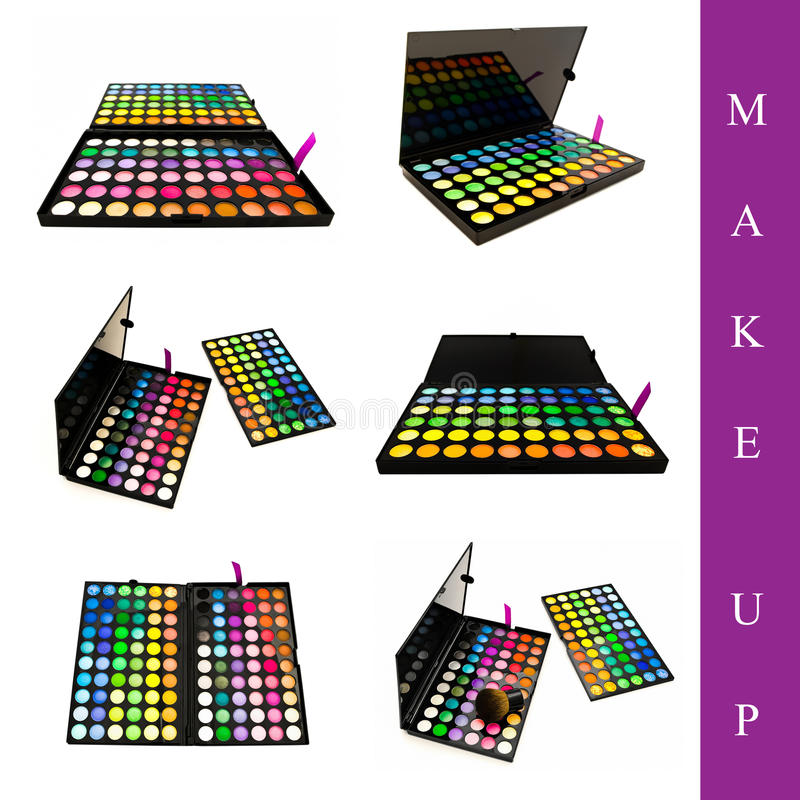Download Make up set stock photo. Image of beauty, brown, beautiful - 13743810