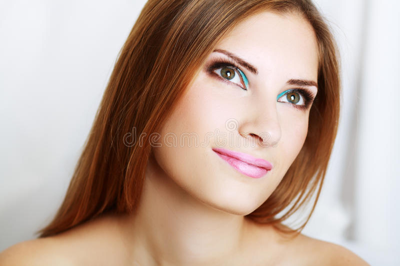 Download Make-up woman stock image. Image of healthy, girl, face - 31409127