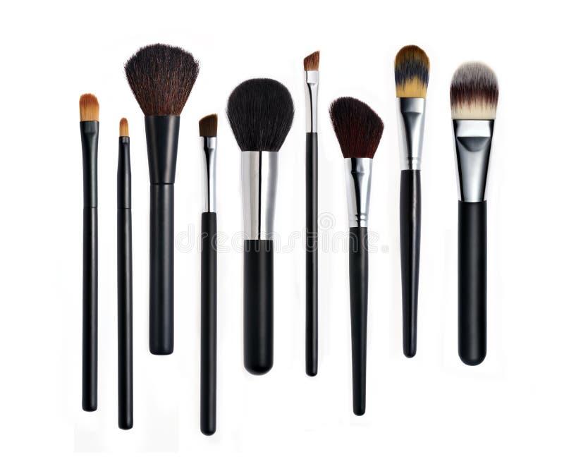 Make-upbürsten lizenzfreie stockfotografie