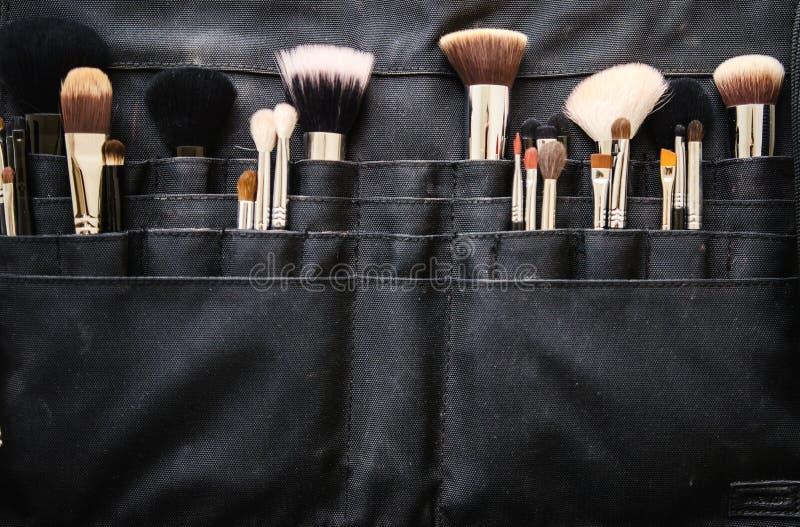 Make-upbürsten stockfotografie