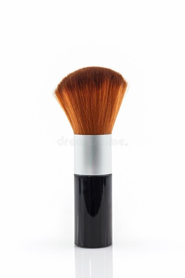 Make-upbürsten-Pulver Rouge lizenzfreie stockbilder