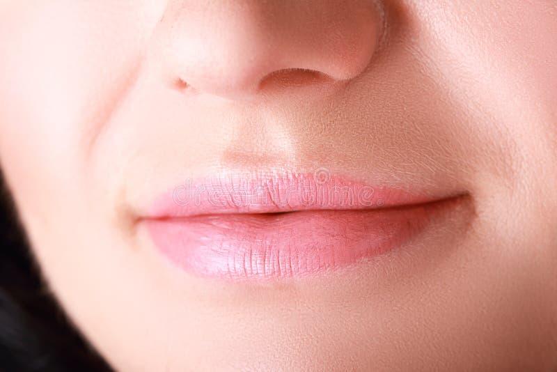 Make-upmond royalty-vrije stock fotografie