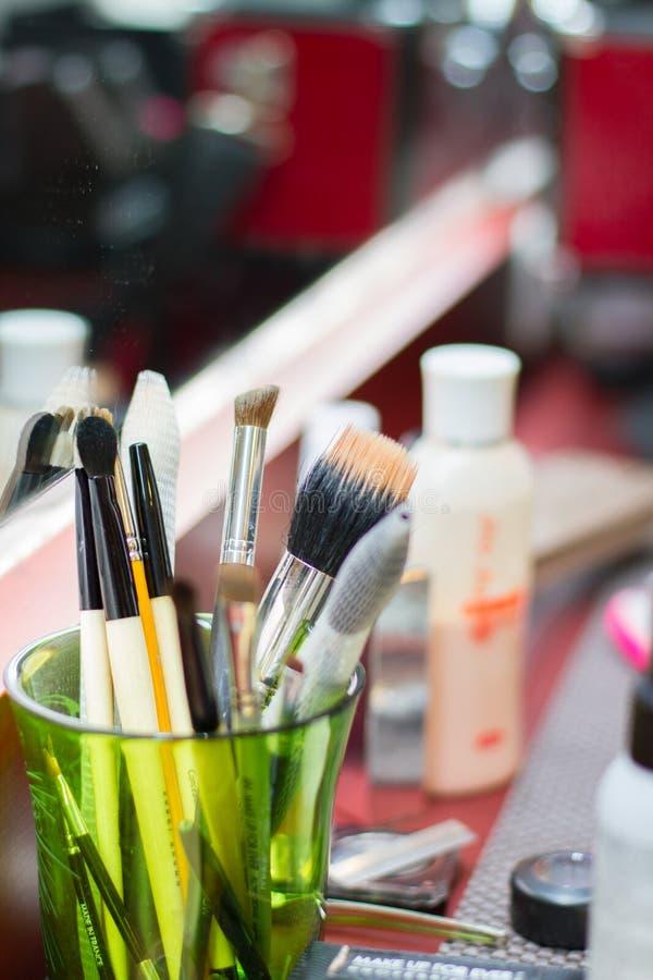 Make-upwerkzeuge stockbild