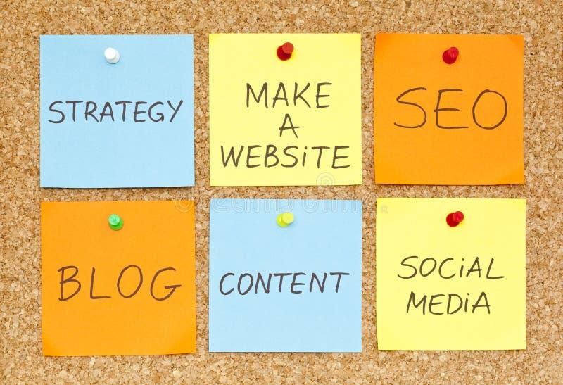 Make a Website stock image