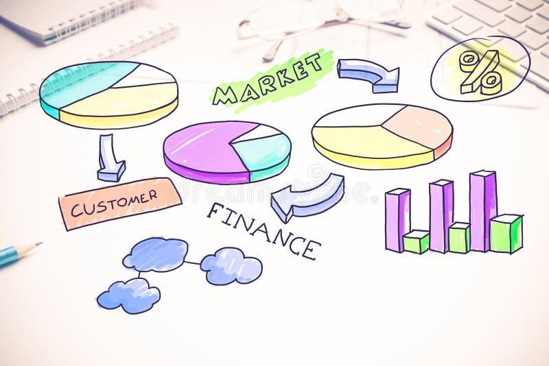 Make your sales grow stock image