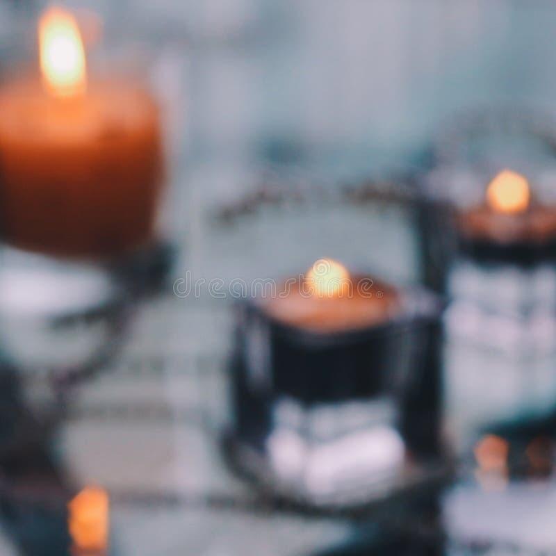 Makend Elke Minieme Telling - de Lichten van de Vakantiekaars royalty-vrije stock afbeeldingen