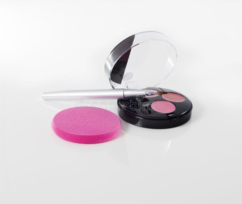 Makeupögonskugga arkivfoton