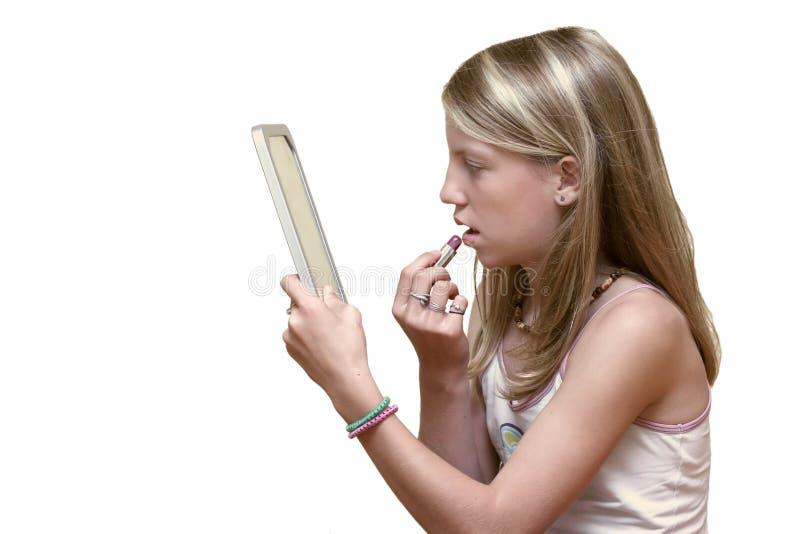 makeup έφηβος στοκ φωτογραφίες με δικαίωμα ελεύθερης χρήσης