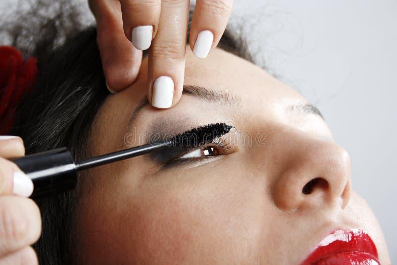 makeup επαγγελματίας στοκ φωτογραφία με δικαίωμα ελεύθερης χρήσης