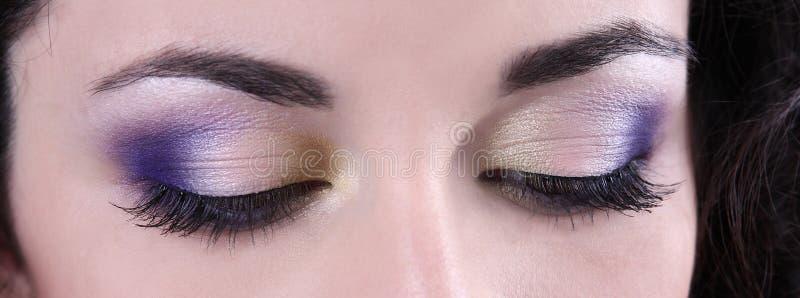 makeup επαγγελματικό YE στοκ φωτογραφίες με δικαίωμα ελεύθερης χρήσης