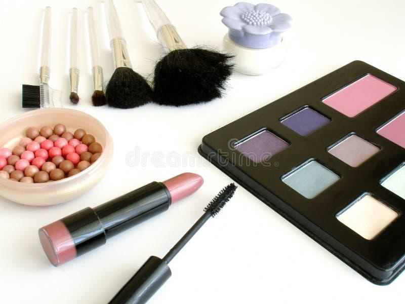 makeup θέστε στοκ εικόνες με δικαίωμα ελεύθερης χρήσης