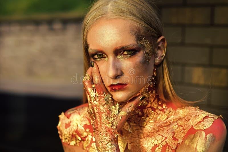 Makeup, ομορφιά, visage στοκ φωτογραφία
