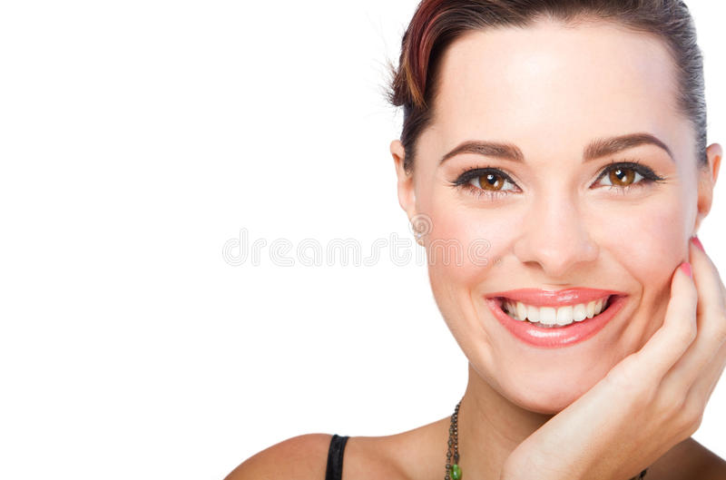 makeup φορώντας τη γυναίκα στοκ φωτογραφία με δικαίωμα ελεύθερης χρήσης