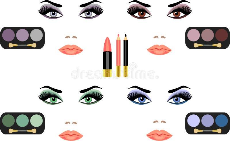 Download Makeup διανυσματική απεικόνιση. εικονογραφία από lifestyle - 17052964