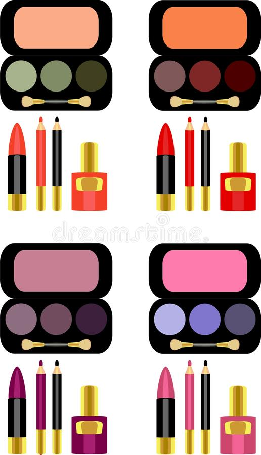 Download Makeup διανυσματική απεικόνιση. εικονογραφία από σύνολο - 17053814