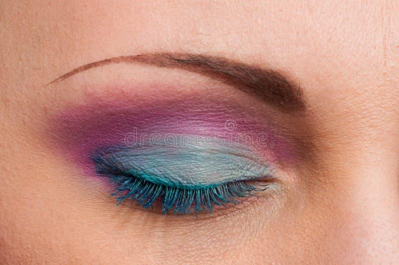 makeup fotografia stock