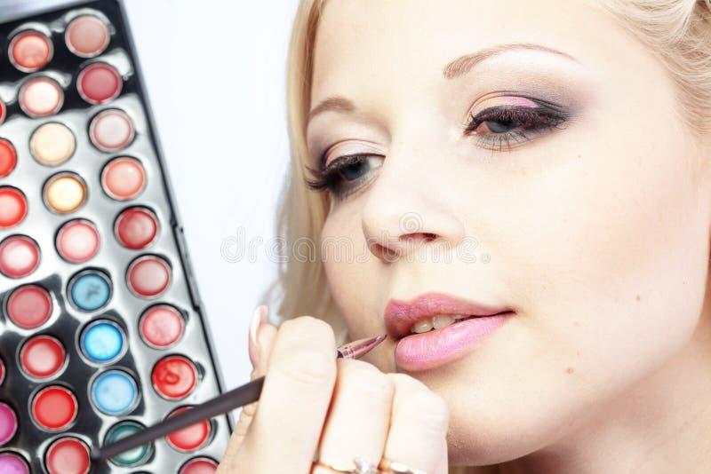 Download Makeup stock image. Image of beautiful, lipgloss, makeup - 19174785