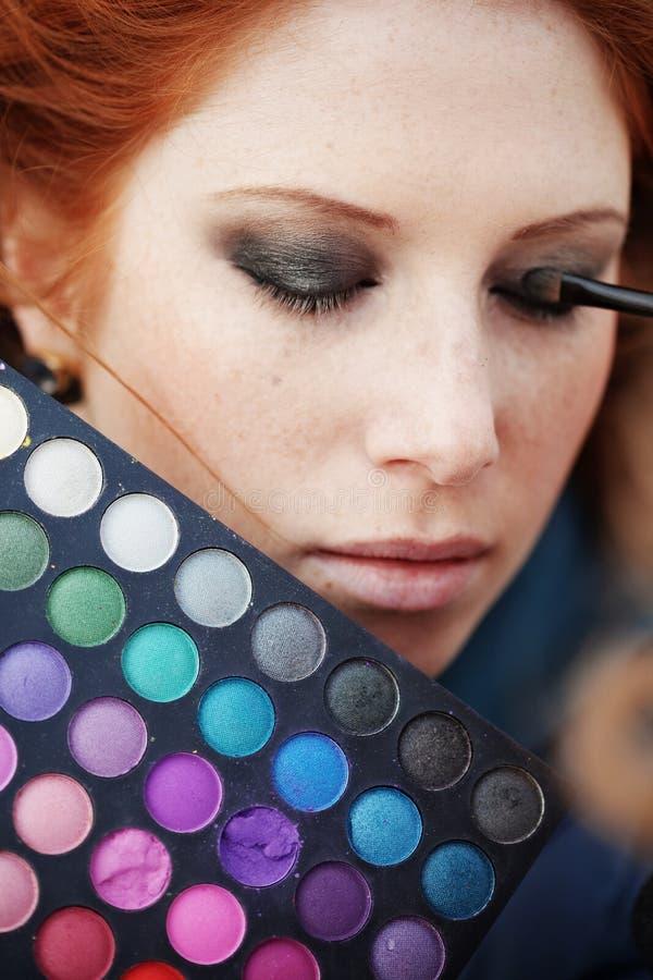 makeup στοκ φωτογραφίες