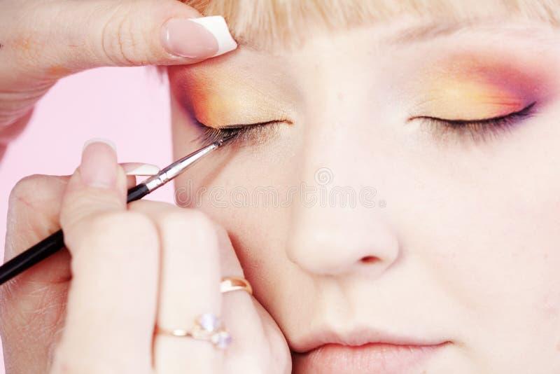 Download Makeup stock photo. Image of makeup, beauty, applying - 24549580