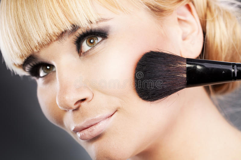 Download Makeup stock image. Image of gorgeous, attractive, blush - 28698785