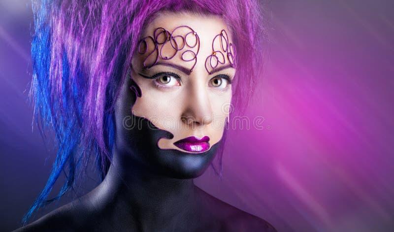 Makeup zdjęcie royalty free