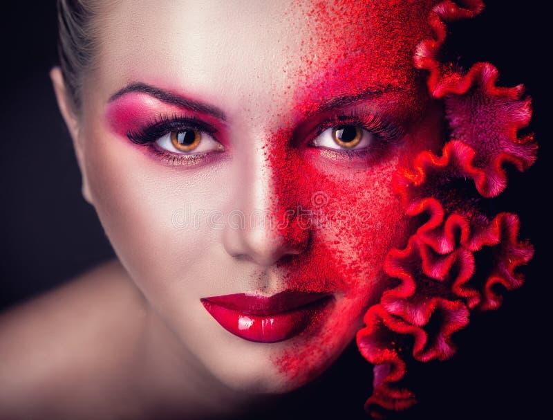 makeup stock fotografie