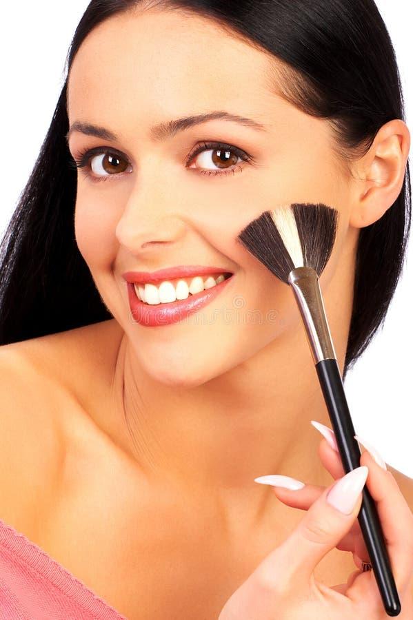 makeup fotografering för bildbyråer