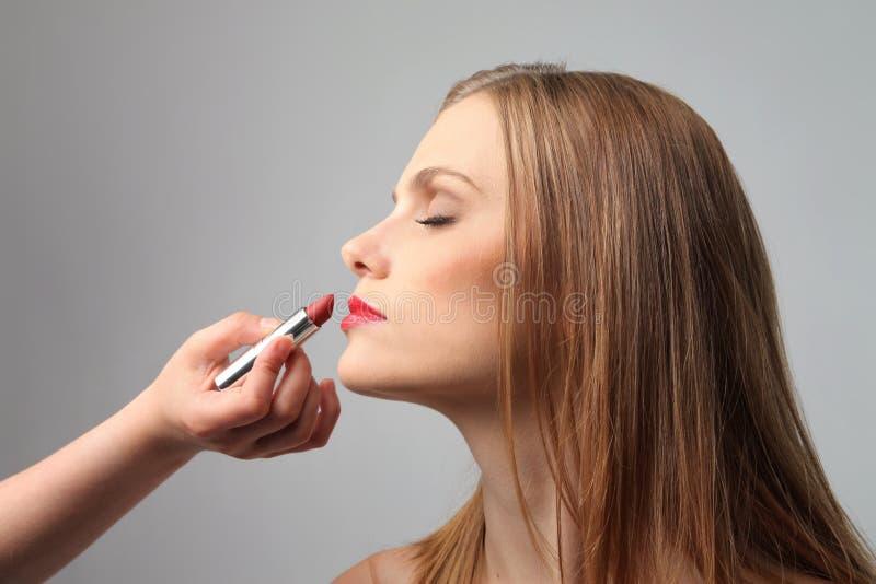 makeup royaltyfria foton