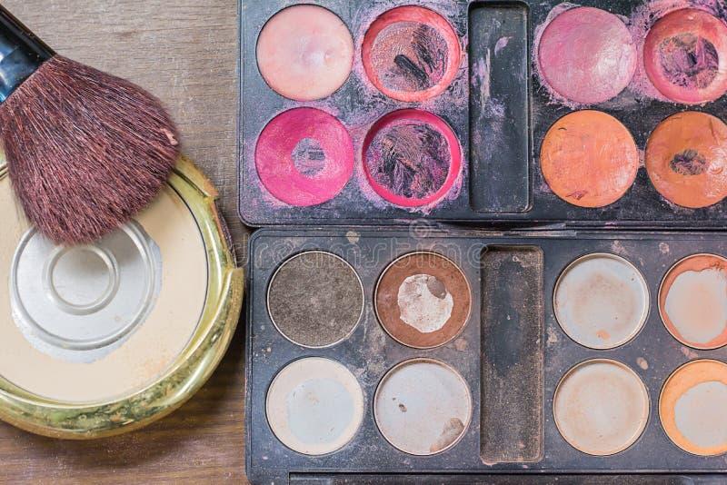 Makeup akcesoria zdjęcia royalty free