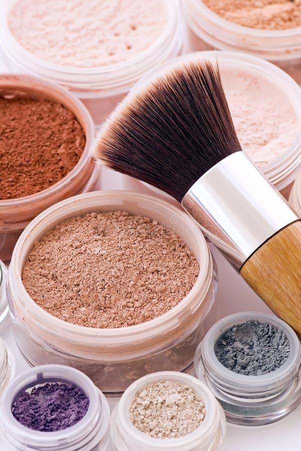 Free Makeup And Brush Stock Photo - 10199160