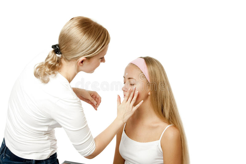 Download Makeup Artist stock image. Image of care, brush, ceremonial - 12237183