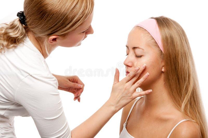 Download Makeup Artist stock image. Image of cosmetics, process - 27119043