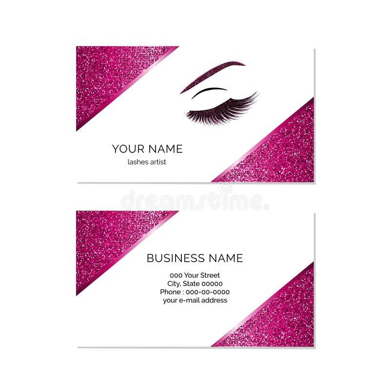 Makeup artist business card vector template stock vector download makeup artist business card vector template stock vector illustration of makeup abstract flashek Gallery