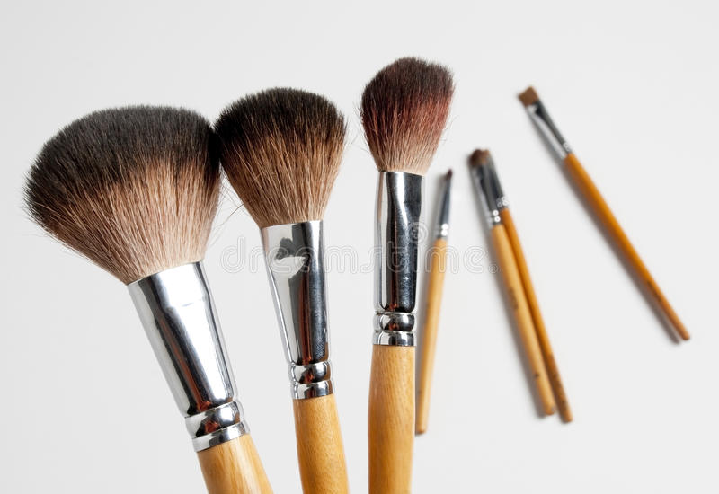 Download Makeup brush stock photo. Image of cosmetic, beauty, make - 15409474